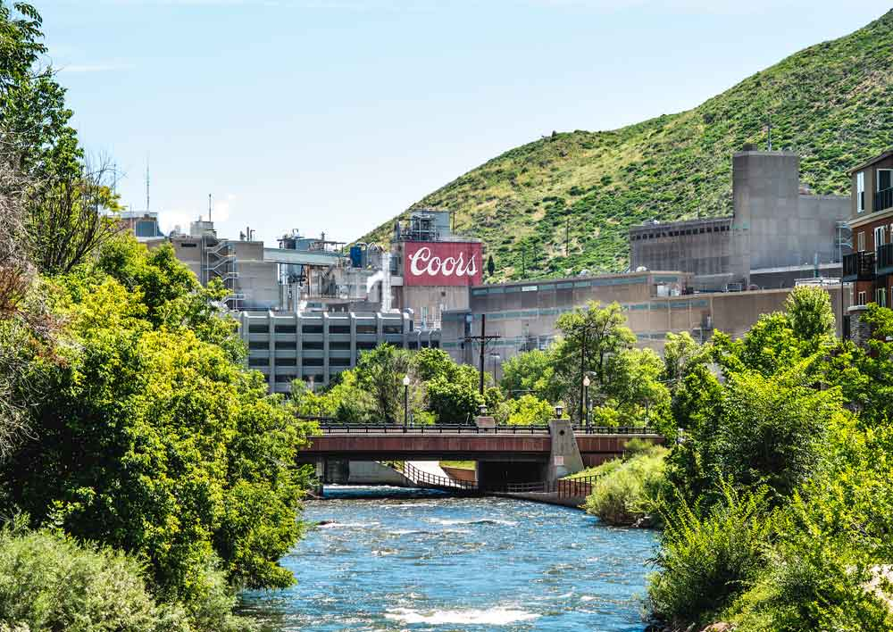 Coors Brewery Factory