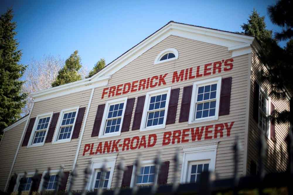 Frederick Millers Plank Road Brewery