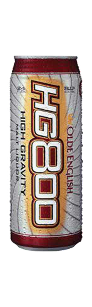 Olde English High Gravity 800 Beer can