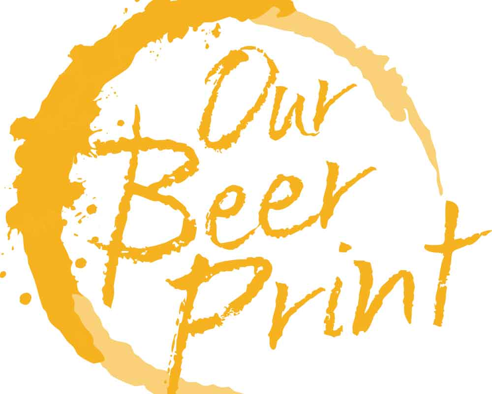 text image: Our Beer Print
