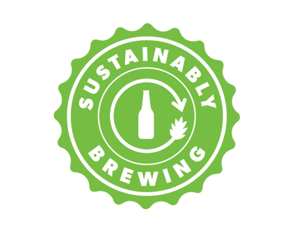 Sustainably Brewing green logo