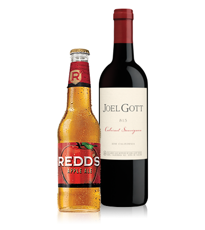 Redds and Red Wine Bottles