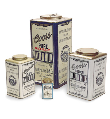 Malted Milk tins