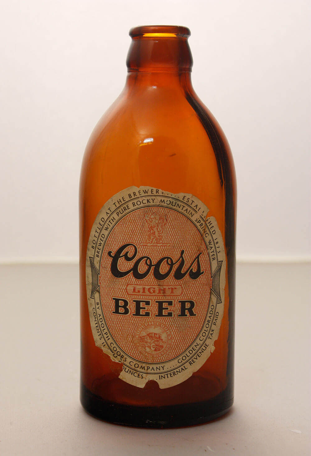 Coors Light beer bottle
