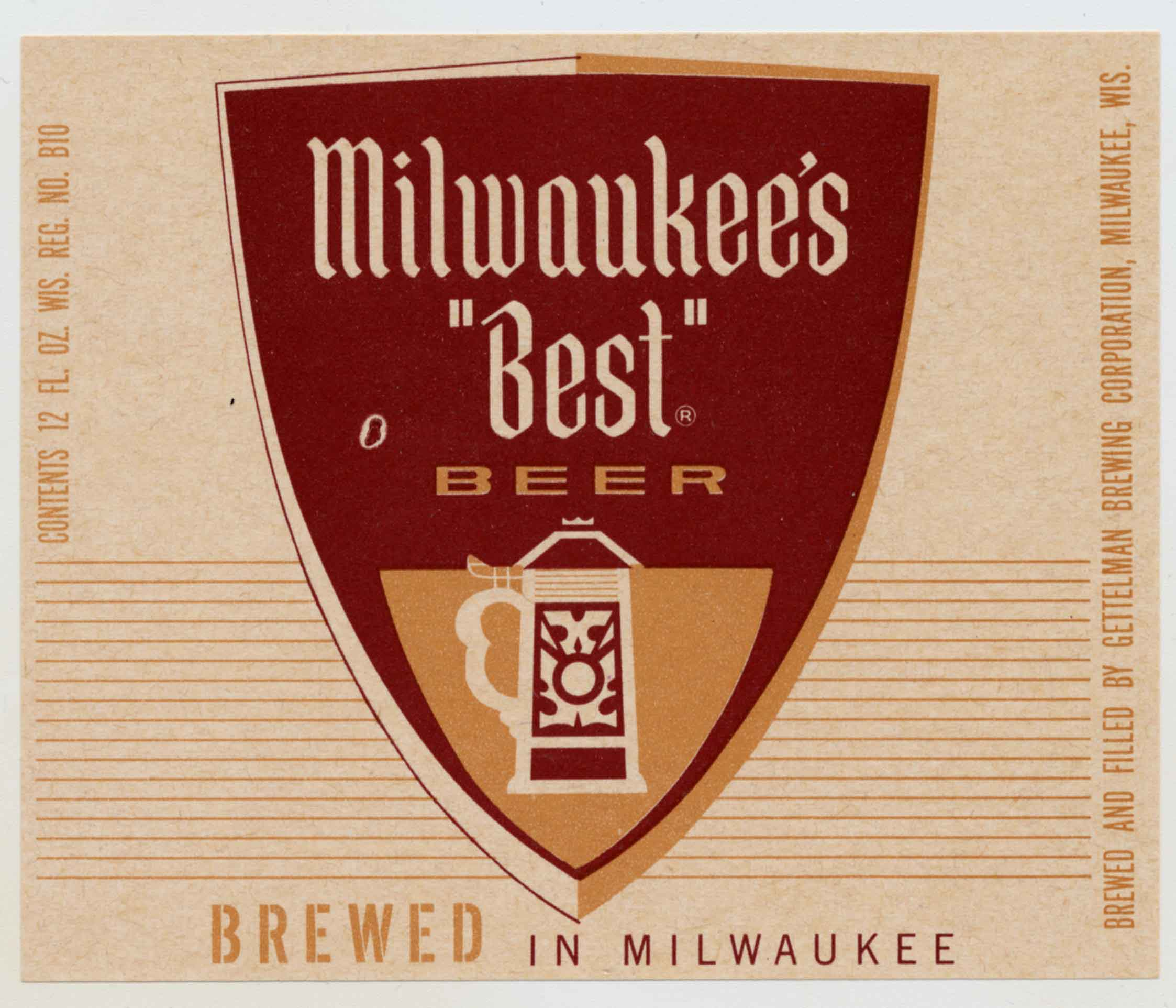 Milwaukee's Best beer label
