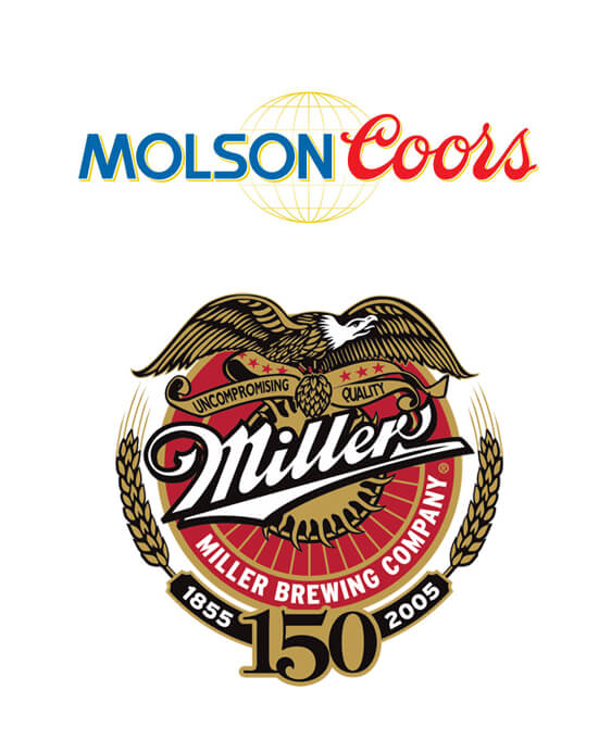 MolsonCoors and Millers logo