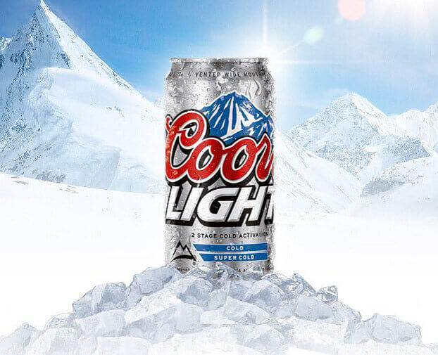 CoorsLight beer can