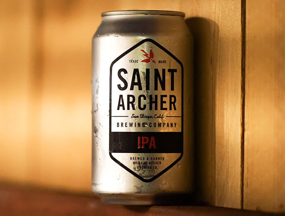 St. Archer Beer can