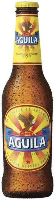 Aguila beer bottle