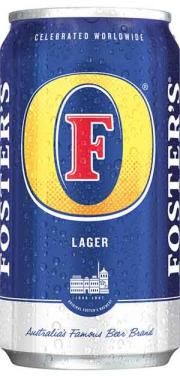Foster's beer can