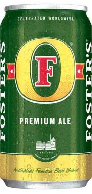 Foster's Premium Ale Beer can