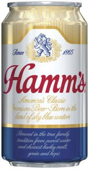 Hamm's Beer can