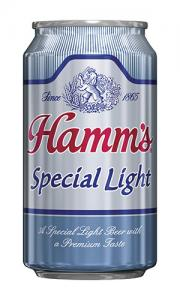 Hamm's Special Light Beer can