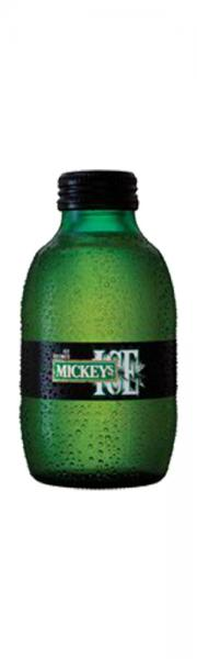 Mickey's Ice beer bottle