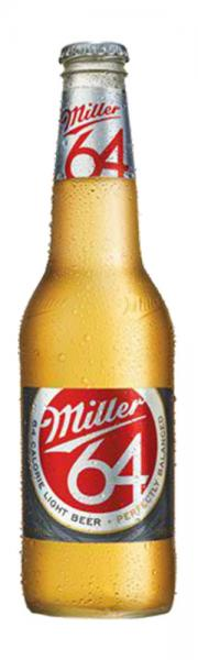 Miller64 beer bottle