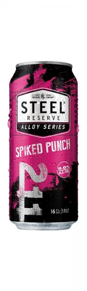 Steel Reserve Spiked Punch Can