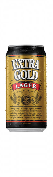 Extra Gold beer can