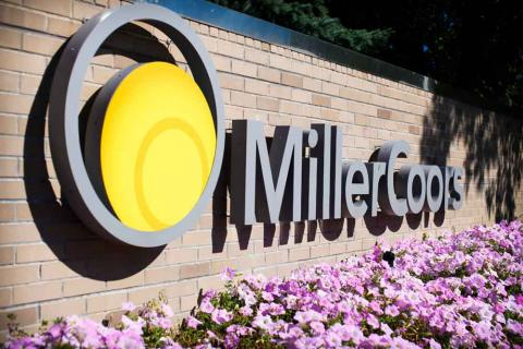 MillerCoors Logo Wall
