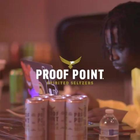 The hardest beats call for the realest seltzer. Salute to @jetsonmade and all the producers who went hard at his Space Boy Beat Camp. #proofpointseltzers #toasttoreal