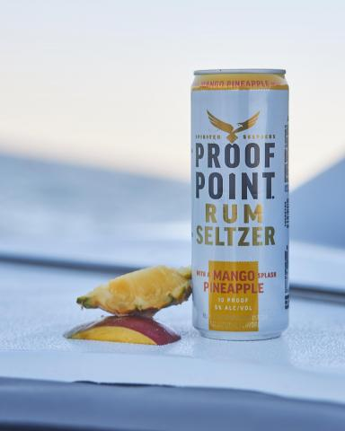 Real Caribbean rum bustin out the wrapper 📸: @lancegross #proofpointseltzers #toasttoreal