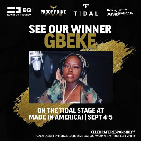 You chose the realest, now get ready to see @gb3ke rock the @tidal Stage!