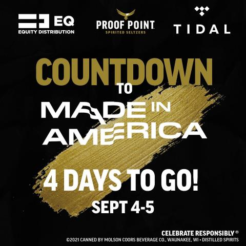 P-minus 5 days till @miafest  Don't miss your chance to catch @gb3ke live on the @tidal stage